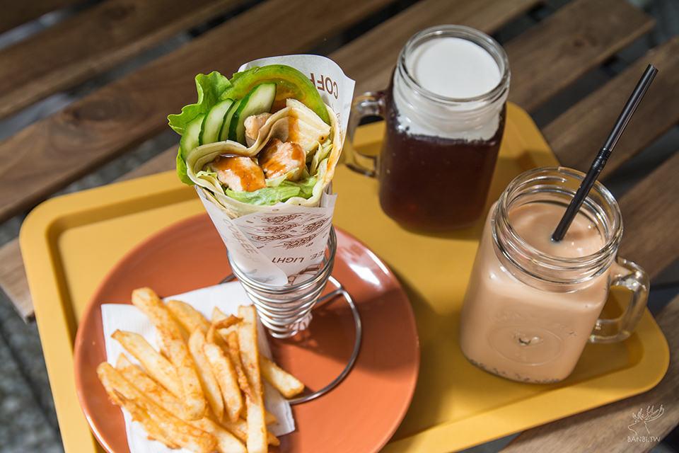 板橋早午餐-嘣啾 x GAUZA法式薄餅專賣店 台式口味-江子翠站美食