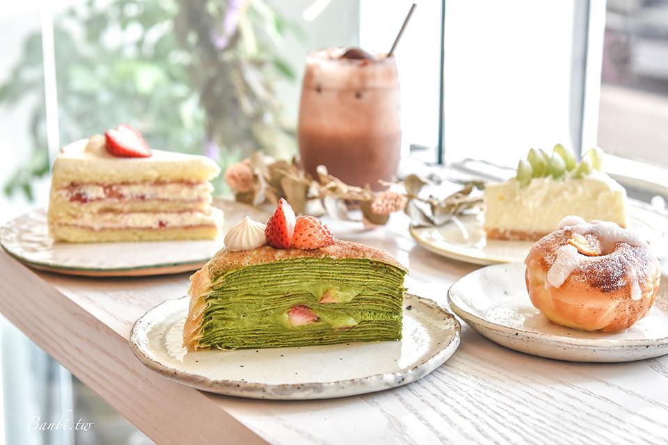 台北人氣甜點Guoguo果果 誘人草莓抹茶千層與綠葡萄生乳酪,科技大樓美食