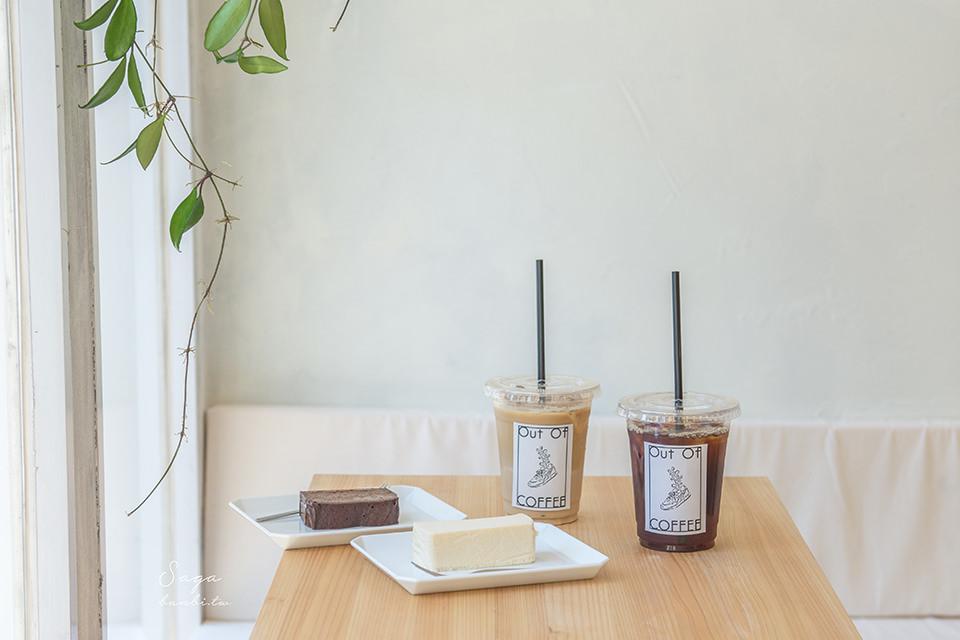 北九州自由行-佐賀Out Of COFFEE,神社旁的文青白淨系日本咖啡店/車站附近在地人氣美食