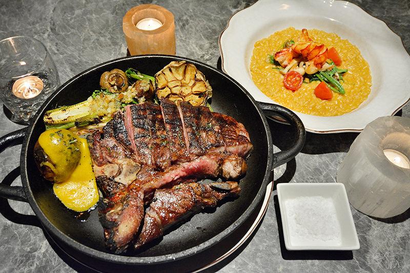 驢子餐廳 L'IDIOT 乾式熟成丁骨牛排與龍蝦燉飯,台北林森北路華泰飯店美食,捷運雙連站