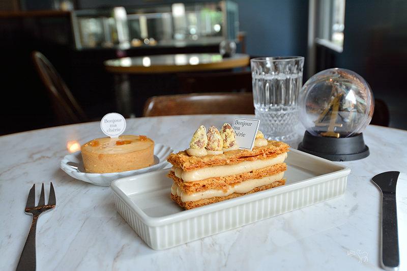 114 x Bonjour ma chérie:東區的美麗法國風甜點店,台北捷運忠孝復興站下午茶