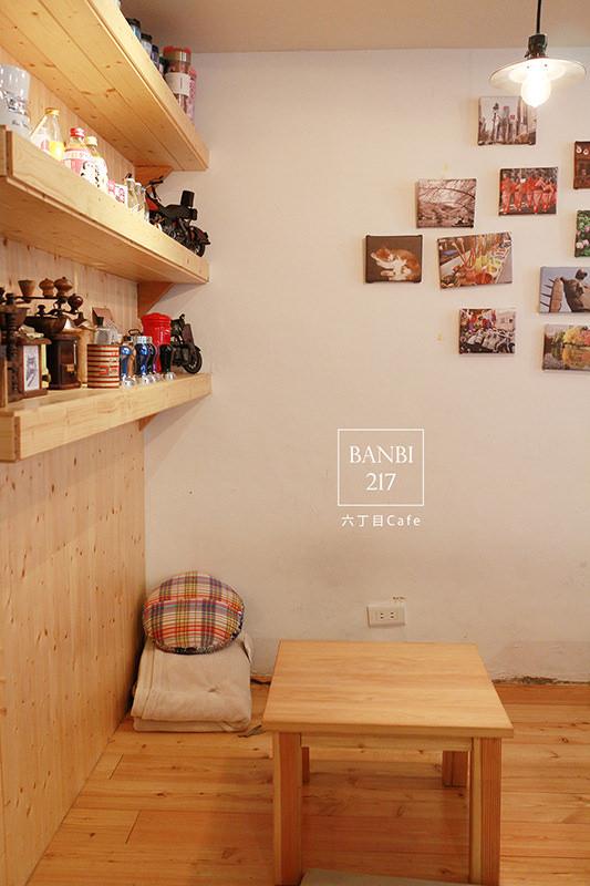 Banbi217 美食旅遊: [台北]六丁目cafe:日系咖啡館,可愛拉花,手工烘培蛋糕,鹹派,下午茶(捷運松山機場站,民生社區,巷弄美食)